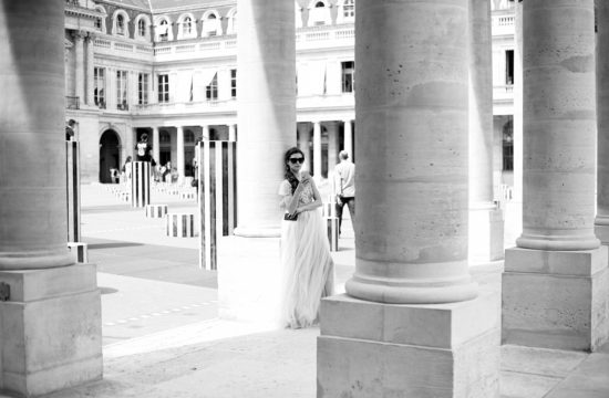 séance trash the dress au palais royal